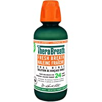 Thera Breath Fresh Breath Oral Rinse, Rainforest Mint, 16 Ounce Bottle