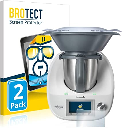 BROTECT Protector Pantalla Compatible con Vorwerk Thermomix TM5 Protector Transparente (2 Unidades) Anti-Huellas: Amazon.es: Electrónica