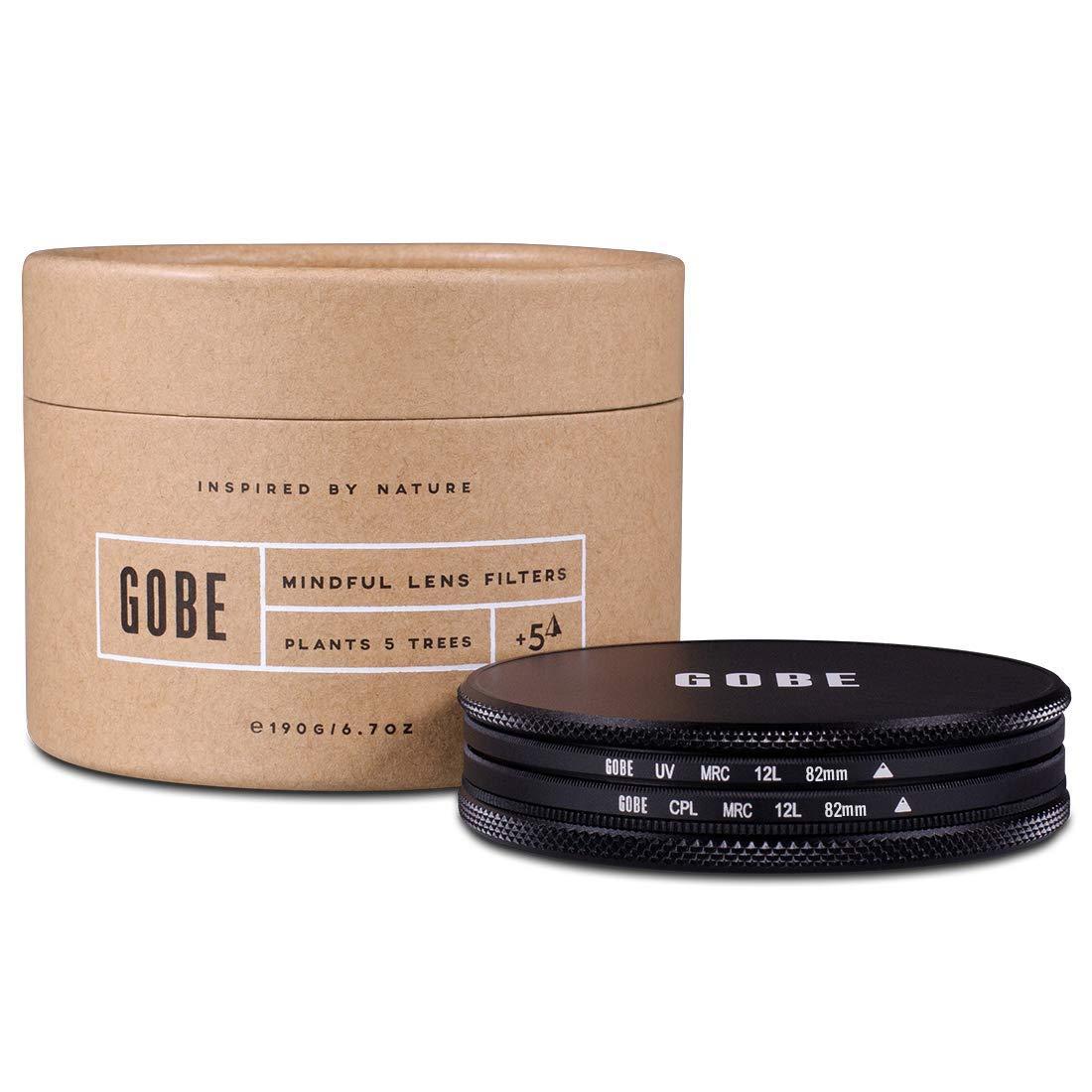 Gobe Filter Kit 82mm MRC 12-Layer: UV + CPL Polarizer
