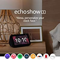 Deals on Amazon Echo Show 5 Smart Display w/Alexa Stay Connected