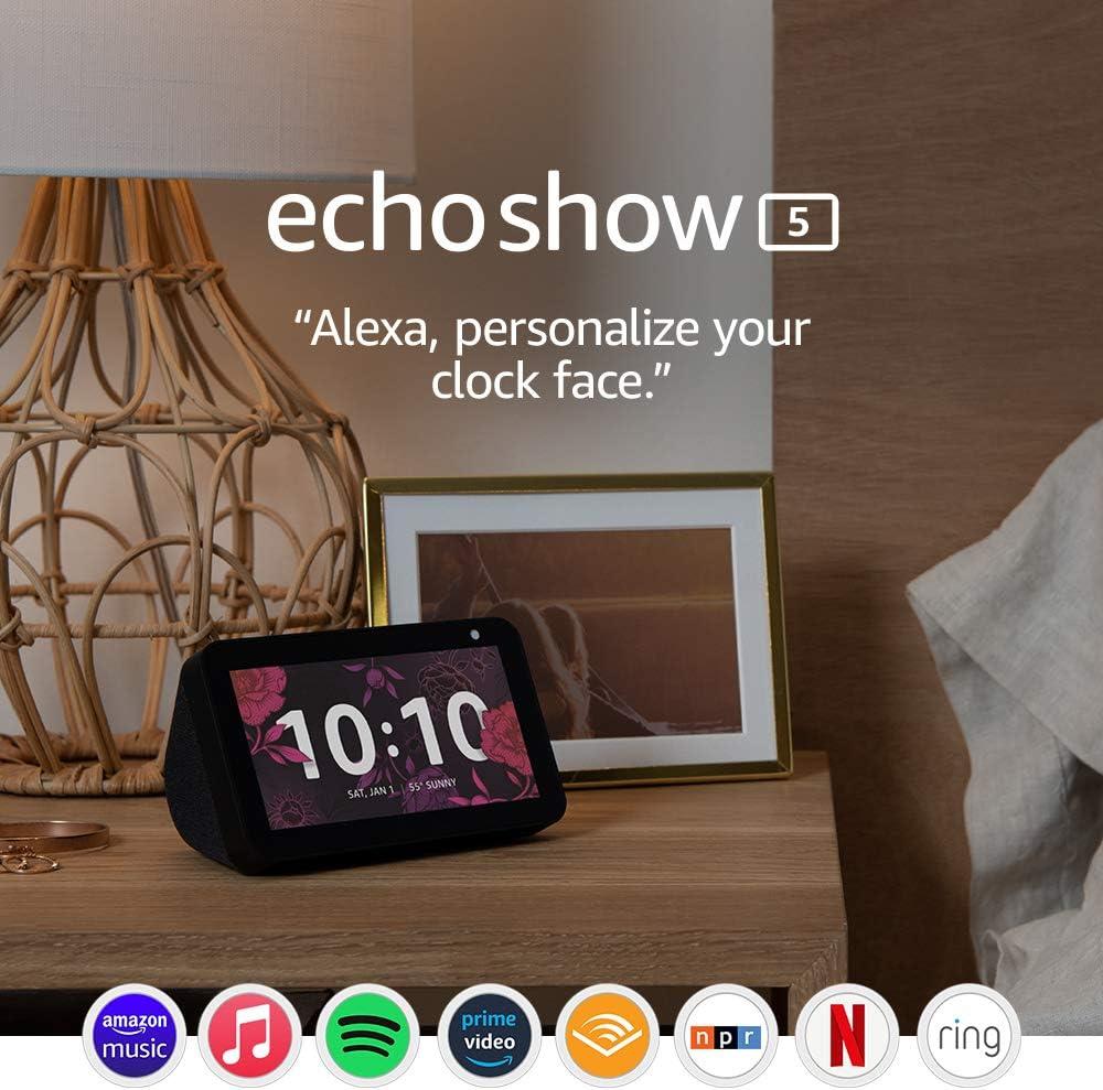 Amazon Echo Show 5 -- Smart display $49.99 Coupon