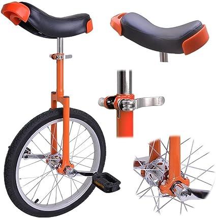 "16/"" 20/"" Wheel Unicycle Uni Cycle Balance Exercise Fun Bike Fitness Circus sports"