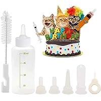 Pet Feeding Bottle Kit, DELFINO Pet Nursing kit, Pet Feeding Tool, Pet Syringe, Pet Puppy Bottles, Pet Pill Shooter…