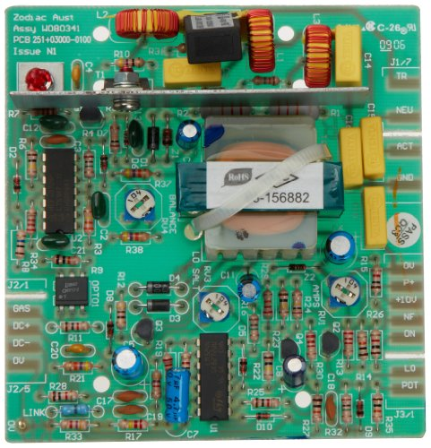 Zodiac W080341 Main Printed Circuit Board Assembly Replacement - Main Printed Circuit Board