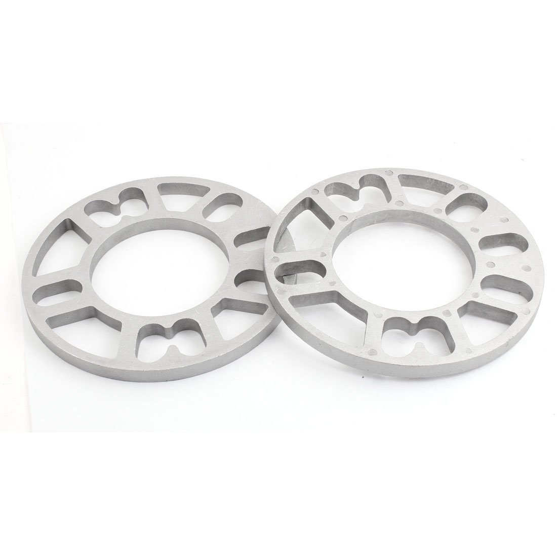 2 Pcs Aluminum Alloy 15cm Dia Wheel Spacer Gasket for Auto Vehicle