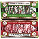 Mini Candy Cane Pack - Two 30 Ct Boxes: 1 Cherry, 1 Peppermint
