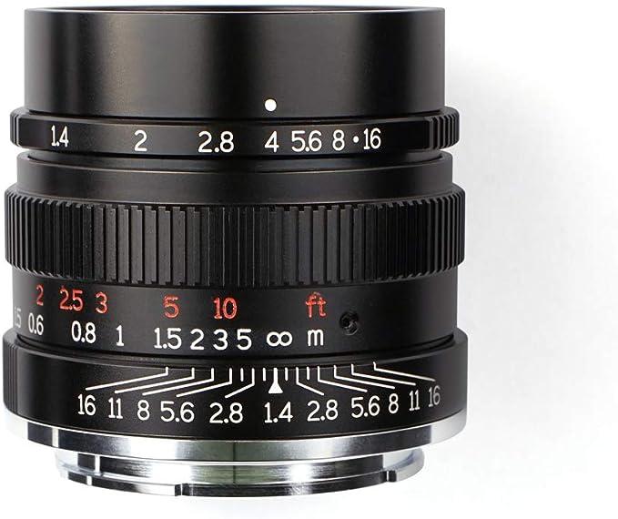 7artisans 35mm F1 4 Vollformat Objektiv Für Sony Kamera