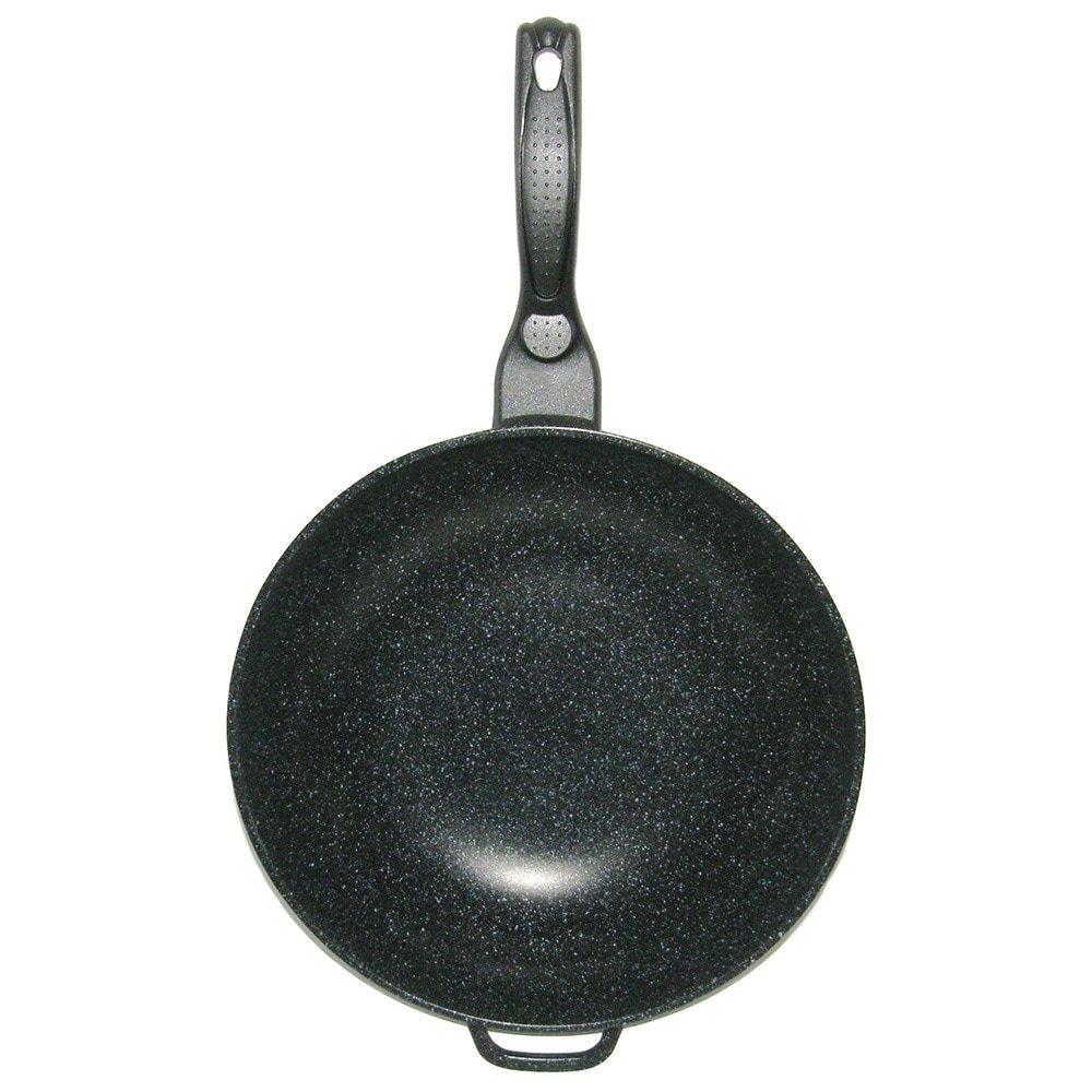 Mega Cook 12.5インチキャストアルミニウムWok B00OCSPJIY