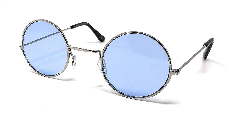 UltraByEasyPeasyStore Occhiali da Sole Rotondi Stile Retr/ò Per Adulti John Lennon Effetto Vintage Occhiali Qualit/à Vintage UV400 Elton Uomo Donna Unisex Classici