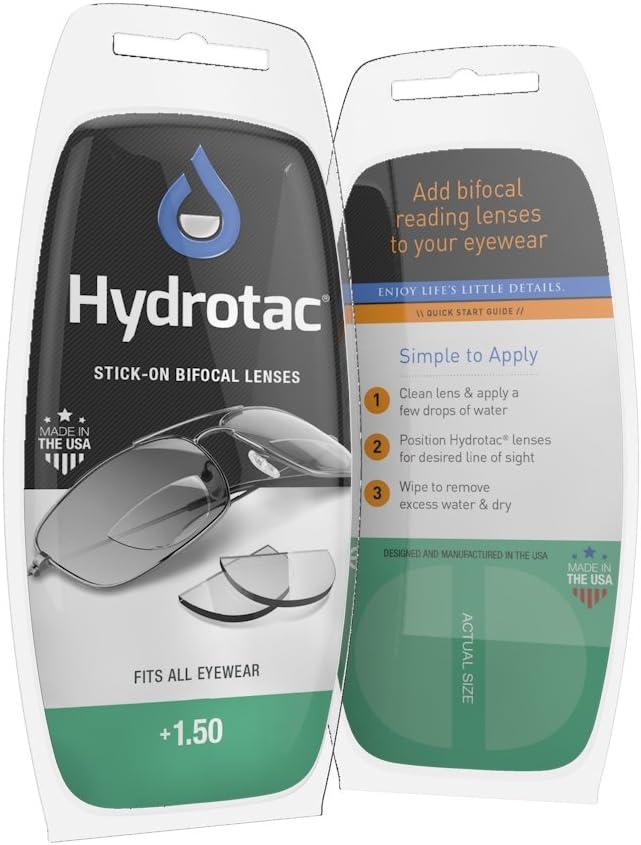 Hydrotac Lentes Bifocales Positivos Adhesivos