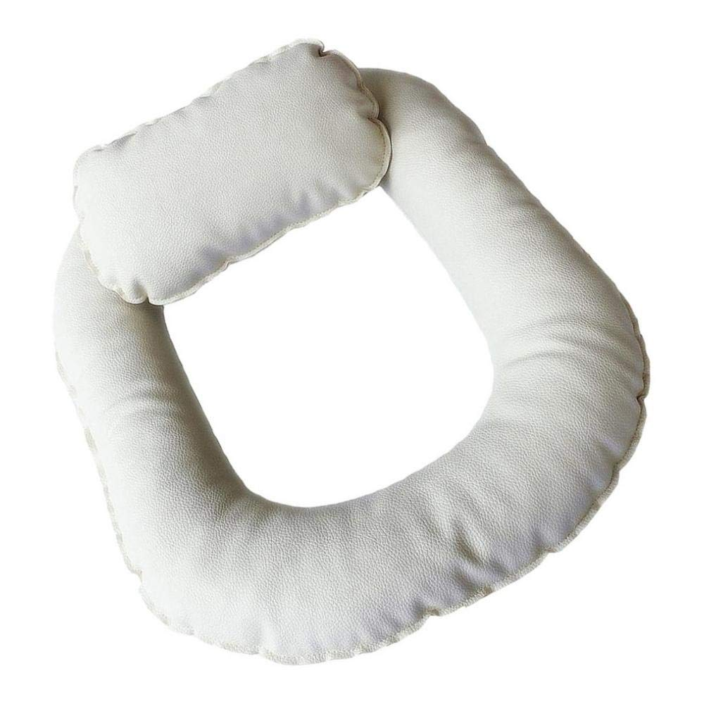 as described White Toygogo Newborn Poser Pillow Donut Pillow Set Infant Photo Prop For Studio 3-Color