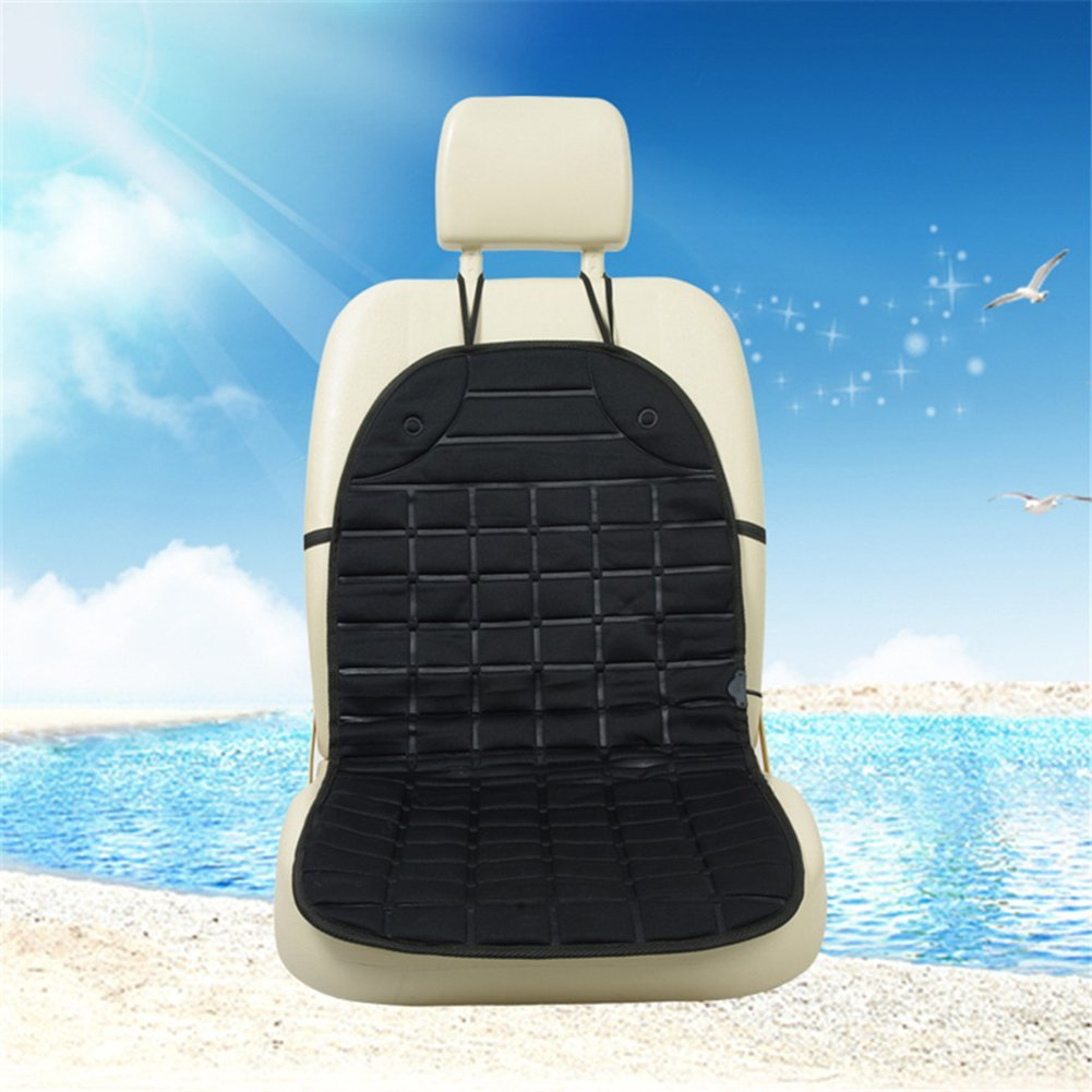 Sedeta® 12V/24V Car heated seat cover cushion warmer Thickening heater Heated pad for driver chair mats