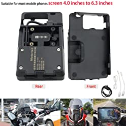 Motoparty R1200GS Mobile Phone GPS Navigation Bracket Accessories For BMW R1200 GS LC ADV 1200 1200GS
