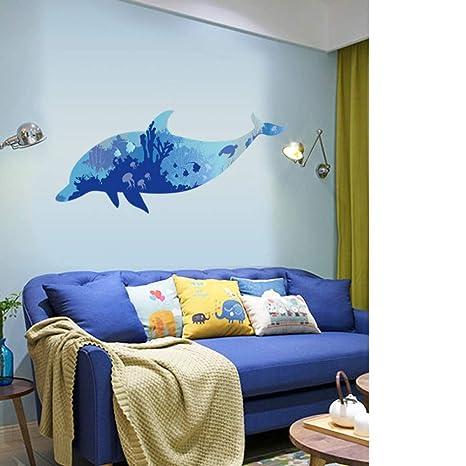 ZJGBZH 3D Wasserdichte Badezimmer Wandaufkleber Dekoration ...