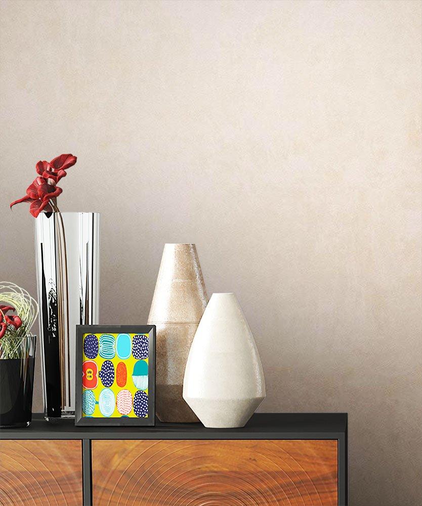 NEWROOM Papel pintado efecto piedra marron papeltapete hermoso diseñ o moderno 3d mirada, incluyendo papel tapiz guí a incluyendo papel tapiz guía