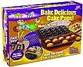 Telebrands 5720-12 Bake Pop: Cake Pops Baking Pan & Accessories