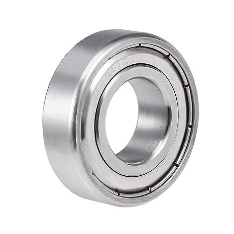 uxcell S6004ZZ Rodamientos de bolas de acero inoxidable, 20 ...