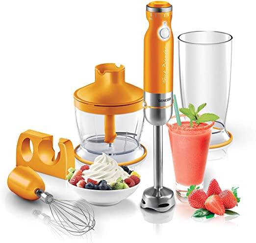 Powerful Electric Hand Mixer Stick Blender Puree Whip Tool Quick Blend