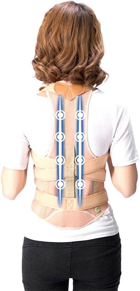 WANGXN Espalda Espalda Ortesis Correas para Hombres y Mujeres Estudiantes Dispositivo de corrección de Postura Sentado