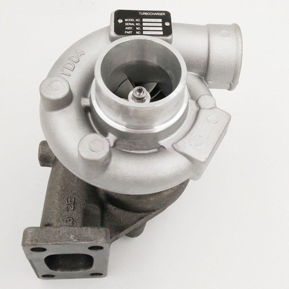 Holdwell Turbocharger TD04HL-13G Turbo 49189-02430 for Mitsubishi Engine S4S-Z1DT65SP