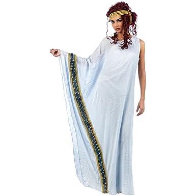 Helena Damenkostüm, griechisches antikes Kleid mit Zierborte