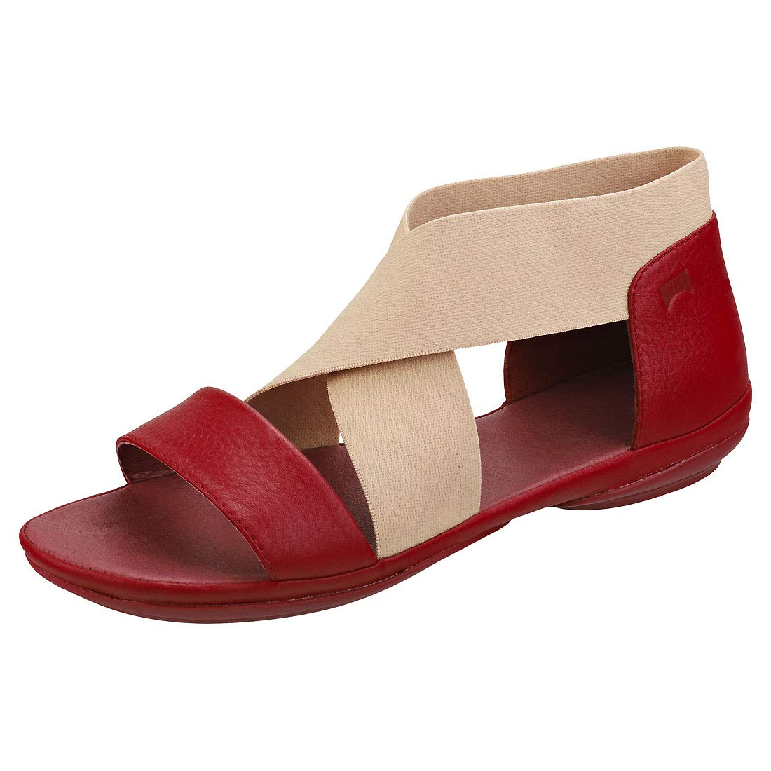 Camper Right Nina Crossover Sella Womens Slip On Sandals in Red - 36 EU