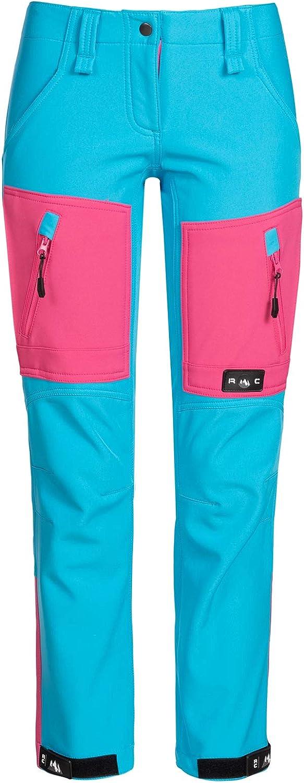 Rock Creek D-424 - Pantalones de Softshell para Mujer