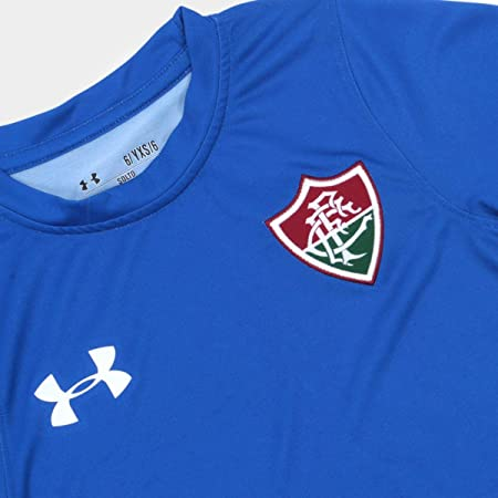 Camisa Fluminense I Infantil 17 18 s n Torcedor Under Armour   Amazon.com.br  Esportes e Aventura 81f7c538d09f8
