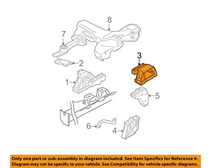 amazon com volkswagen 1j0199555ca genuine oem trans mount automotive VW Wiring Diagram