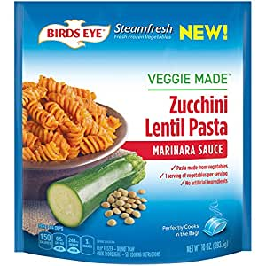 Birds Eye Steamfresh Veggie Made, Zucchini Lentil Pasta