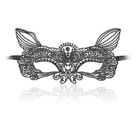 Bobury Mujeres de Ojos del Cordón Atractivo de la Máscara de Ojos vendados Recorte Blinder Erótica