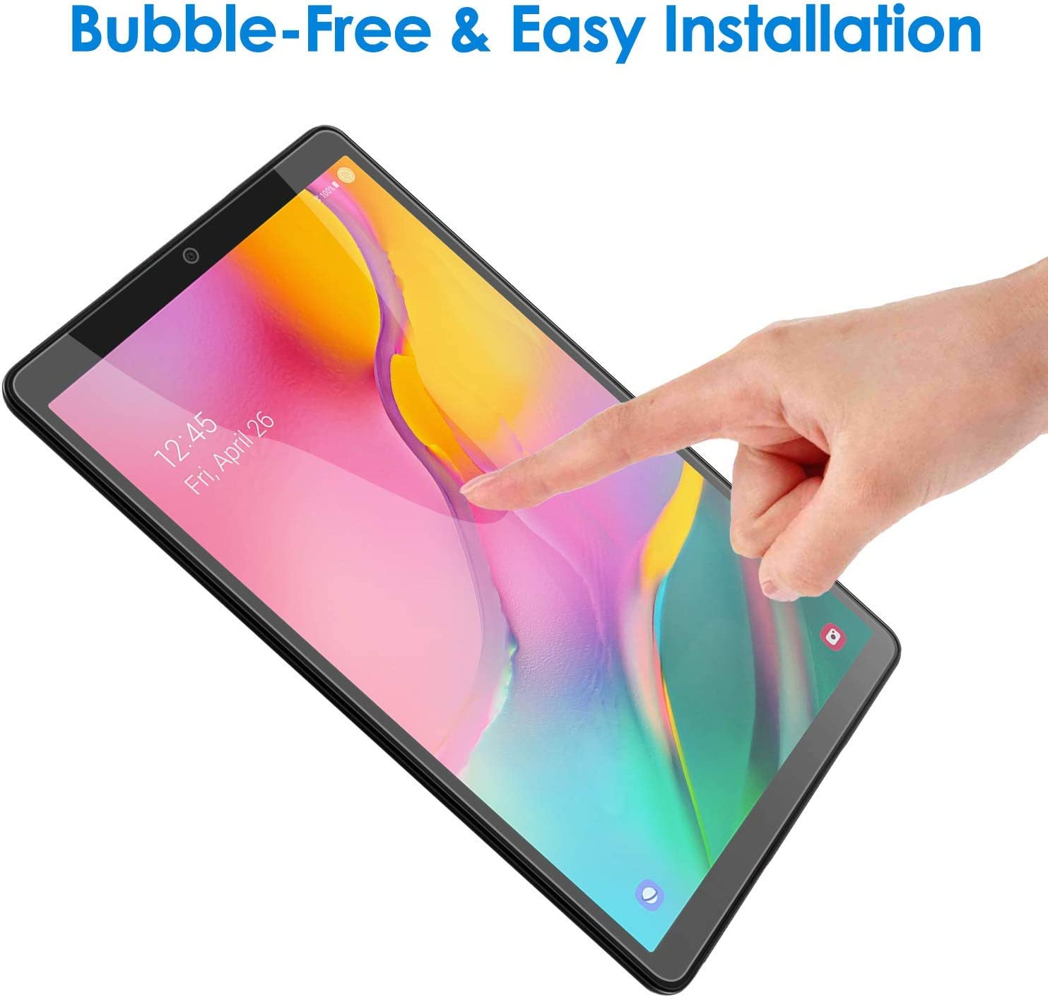 Verre Tremp/é pour Samsung Galaxy Tab A 9.7 inch SM-T550//T555 MadeRy Anti-Rayures Film Protection en Verre Tremp/é Compatible avec Galaxy Tab A 9.7 inch 2 Pi/èces