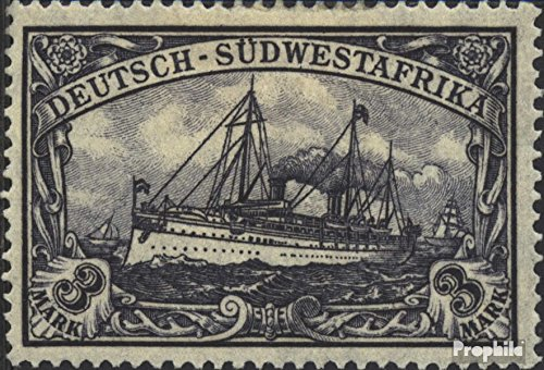 German-Southwest 31a with Hinge 1919 Ship Imperial Yacht Hohenzollern (Stamps for Collectors)