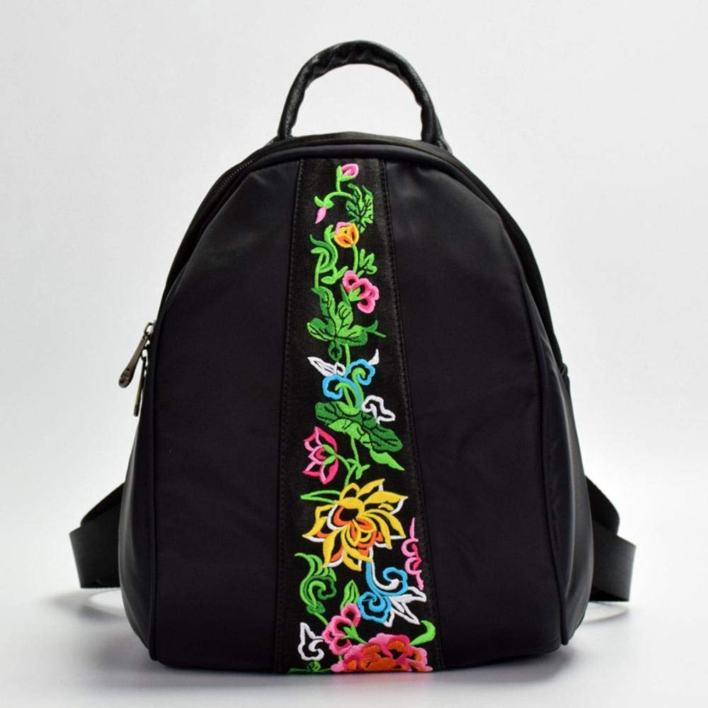 Mayanyan National Style Embroidery Backpack Oxford Multifunctional Mini Embroidery Small Backpack Waterproof