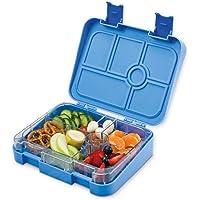 schmatzfatz Vesperbox/Bento Box/Lunchbox für Kinder mit 6 Fächern, robust und auslaufsicher