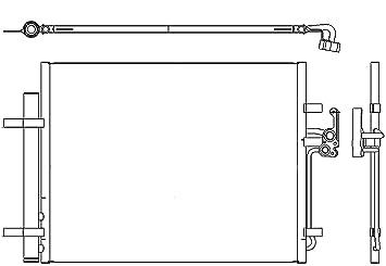 BEHR HELLA SERVICE 8FC 351 303-201 Condensador, aire acondicionado: Amazon.es: Coche y moto