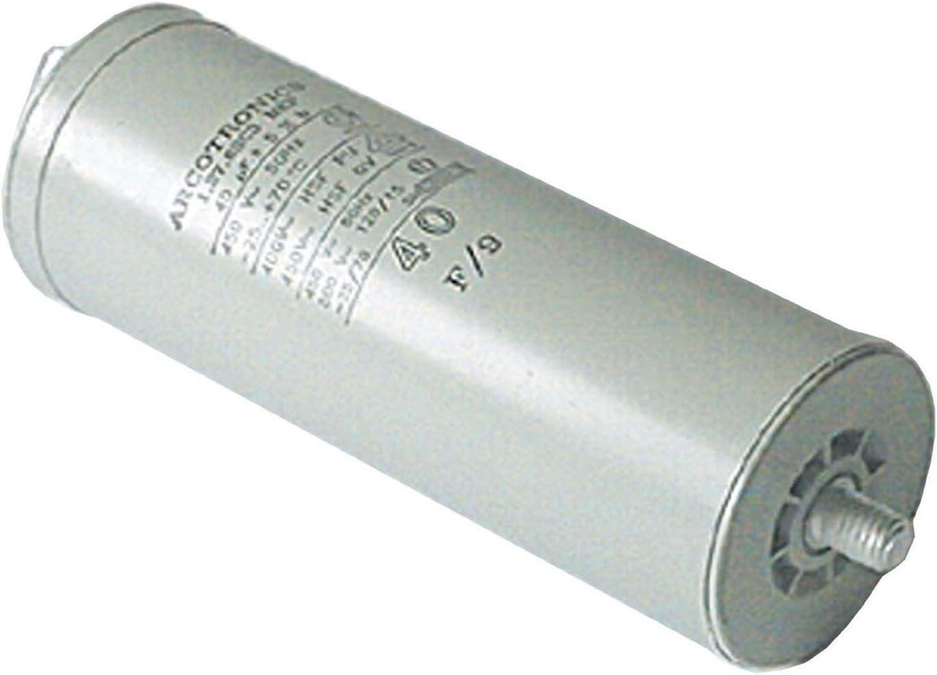 Spade Connector//Tags Spares2go Start Run Motor Capacitors For Samsung Appliances Microfarad 10UF