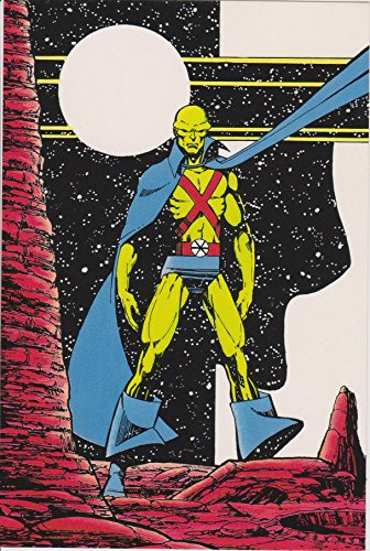 Martian Manhunter J'onn J'onzz - DC Comics 1984 Comic Original Vintage Postcard from Bankston's Card & Comics