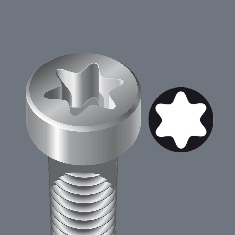 TX 20 x 89 mm Wera 867//4 Z SB Tough TORX/® Bit 05073528001