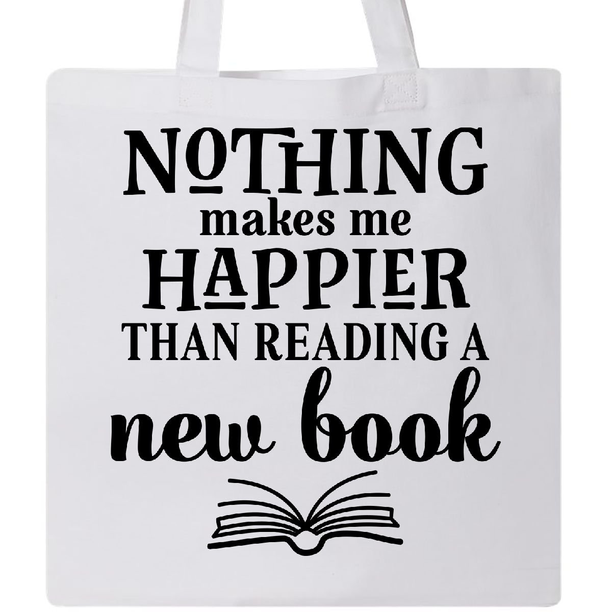 Inktastic - Book Club Reading Librarian Gift Tote Bag White 2e1c1