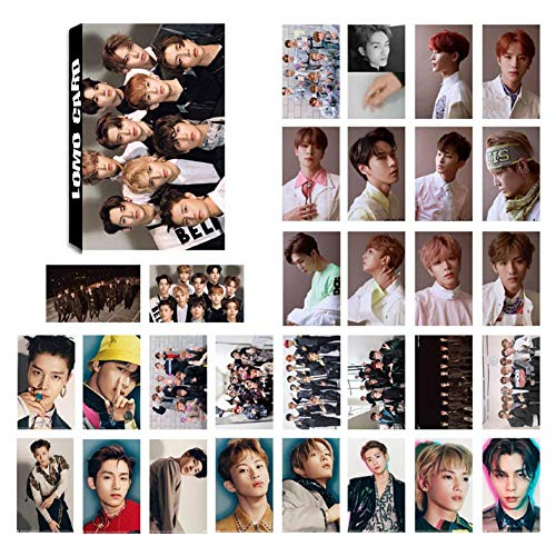 Nuofeng - Kpop NCT 127 NCT U NCT Dream Lomo Card Postcard WE ARE SUPERHUMANNCT #127 RegulateAwakenSticker Paintings Photo Hot Gift for Fans(30pcs-13)