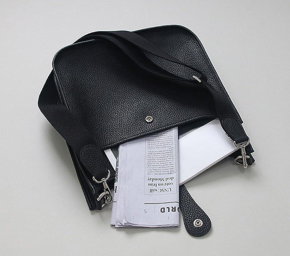 Amazon.com: LUX TOGO CASUAL BAG - Bolso de piel auténtica ...
