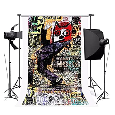 NYMB 3x5ft Poly indoor photography Background seamless customized backdrop various scenes Clutter comic by NYMB
