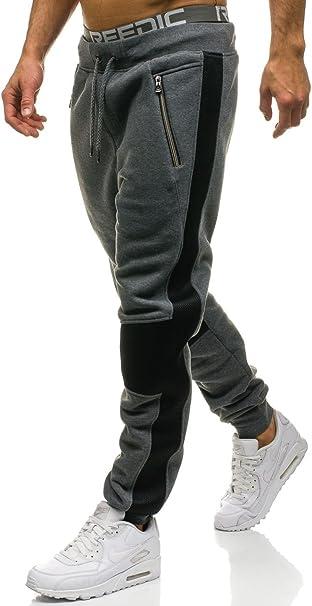 da Uomo Mix 6F6 Sportivi BOLF Pantaloni Stile Casual Joggers