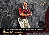Nick Saban Football Card (Alabama Crimson Tide) 2014 Upper Deck Conference Greats Memorable Moments 2013 3rd National Championship in 4 years #148