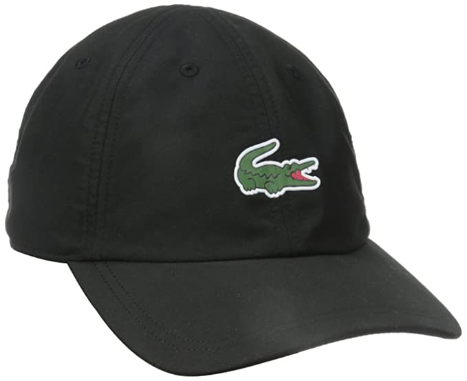 6b832a3f Lacoste Men's Sport Polyester Cap with Green Croc