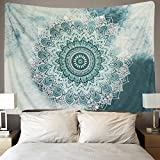 #3: Icejazz Indian Mandala Tapestry Wall Hanging Flower Psychedelic Bohemian Tapestries for Room Multi Color 51
