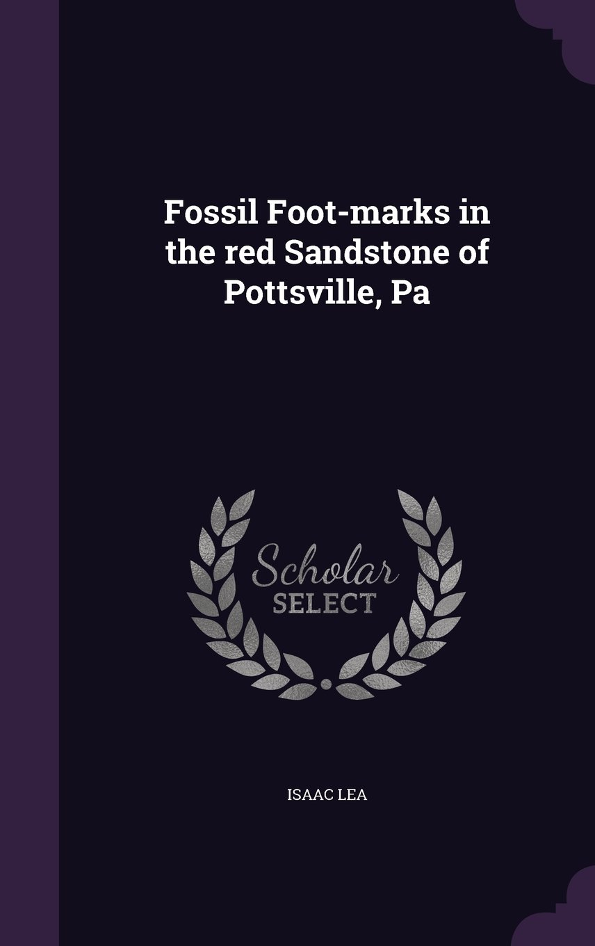 Read Online Fossil Foot-Marks in the Red Sandstone of Pottsville, Pa pdf