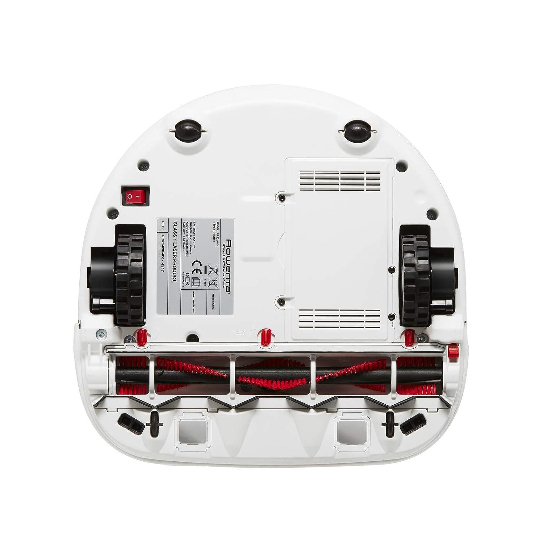 Rowenta Smart Force Cyclonic Explorer RR8147WH - Robot aspirador, 7 programas, 60 minutos de autonomía, marrón y blanco: Amazon.es: Hogar
