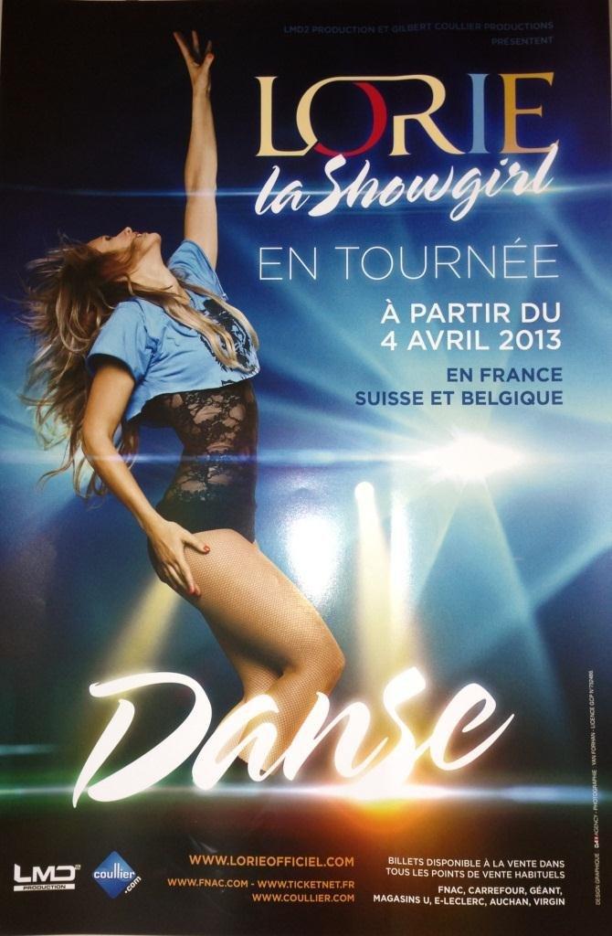 Lorie-La-Showgirl 40 x 60 Cm, diseño de cartel-Póster ...